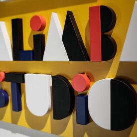 Logo 3D Kalimba studio produzione musicale